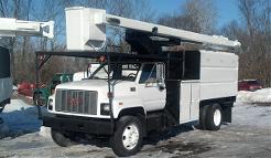 Hi-Ranger Forestry Bucket Truck