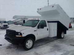 4x4 Chipper Dump Truck