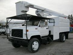 Forestry Bucket Truck