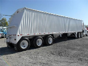 New Stainless Steel Grain Trailer
