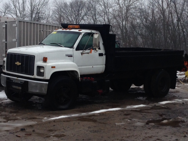 1996 GMC C6500 Dump Truck for sale