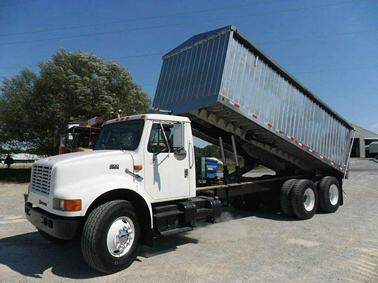 Aluminum Grain Truck