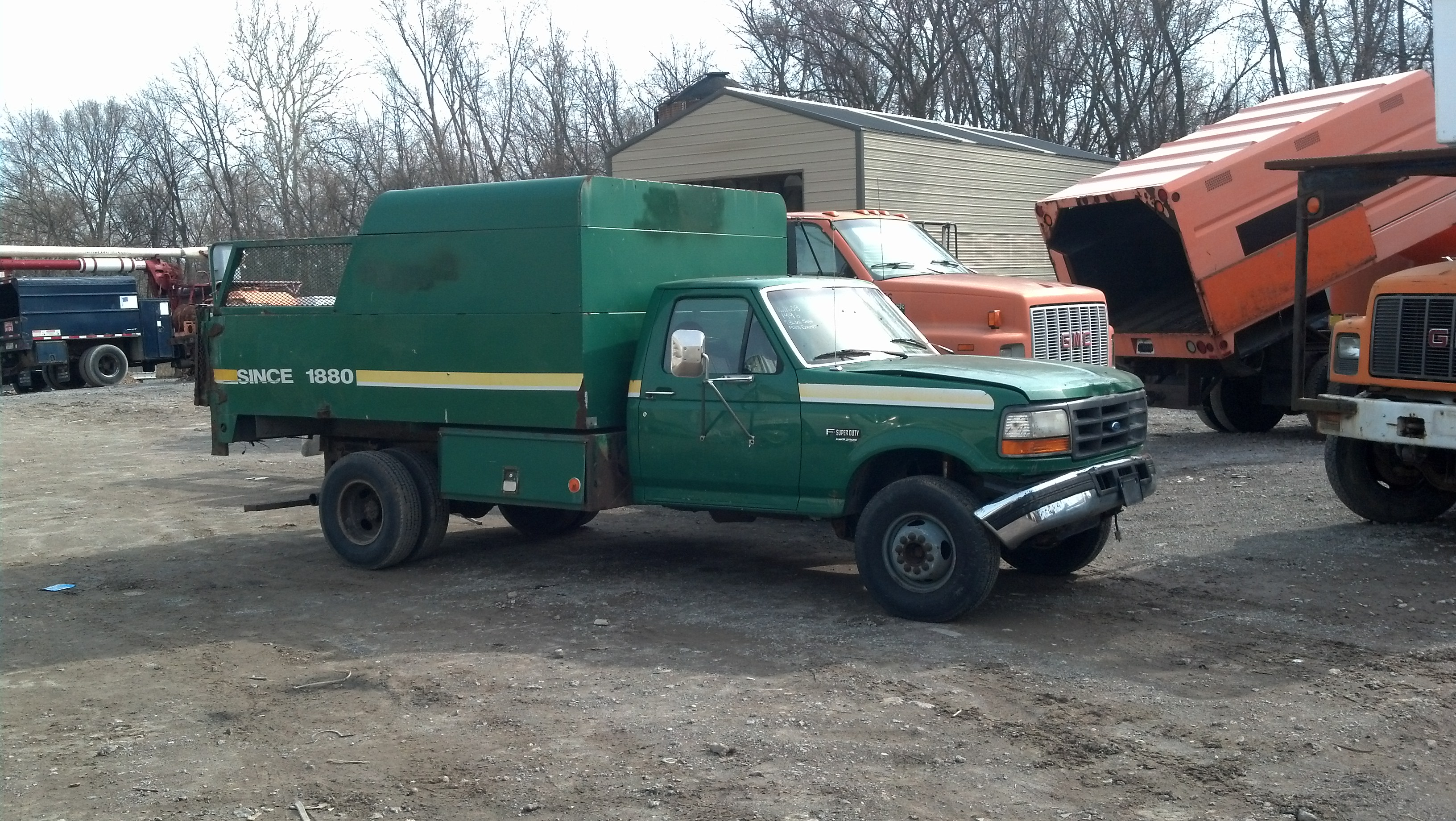 F450 Chipper Dump truck 7.3 diesel manual 5sp